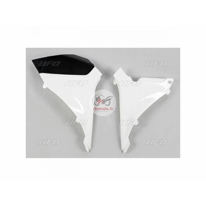 UFO Air Box Covers White KTM SX-F250/350/450/505