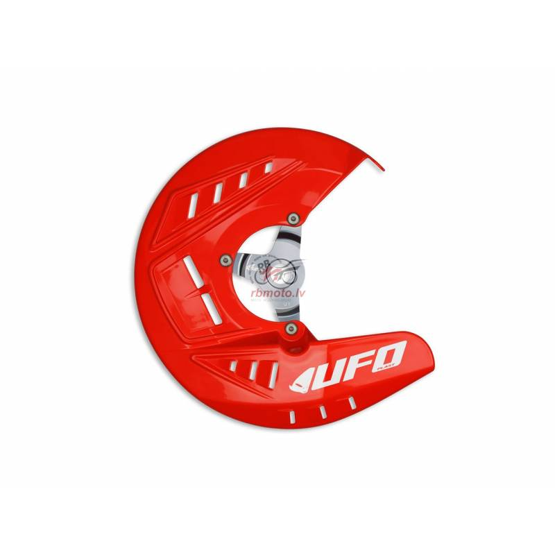 UFO Front Disc Protector Red Honda CRF250R/CRF450R