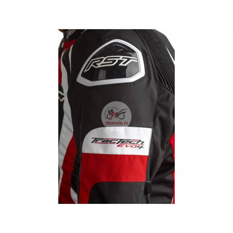 RST Tractech EVO 4 CE Jacket Textile Red Size L Me...