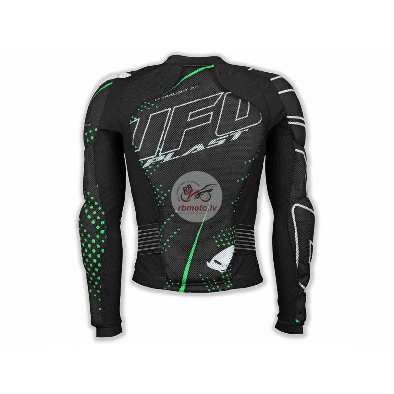 UFO Ultralight 2.0 Body Protector with Belt Black ...