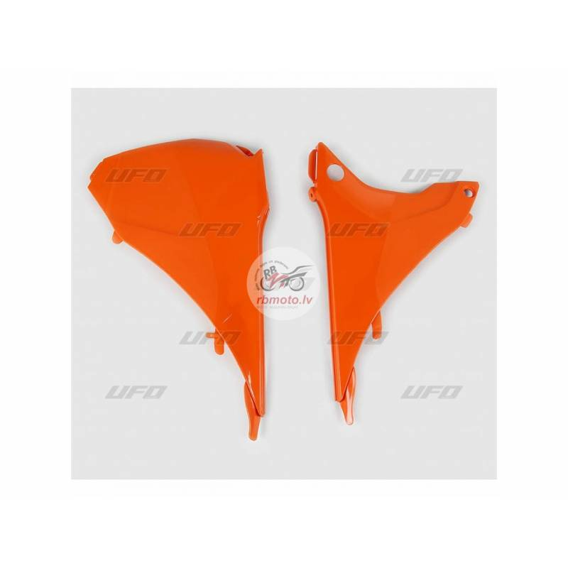 UFO Air Box Covers Orange KTM