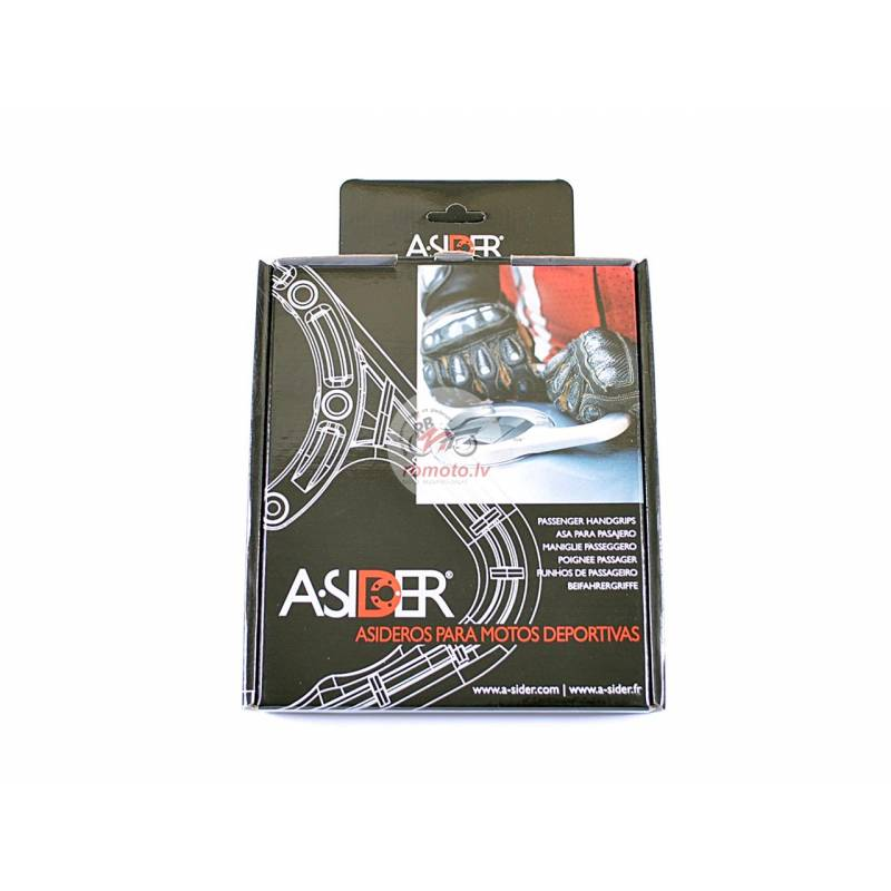 A-SIDER Tank Handle Grip 6 Screws Silver BMW