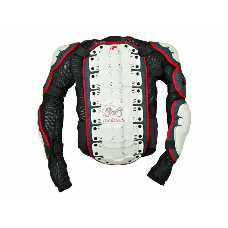 Polisport white/black/red Integral body armour XL ...