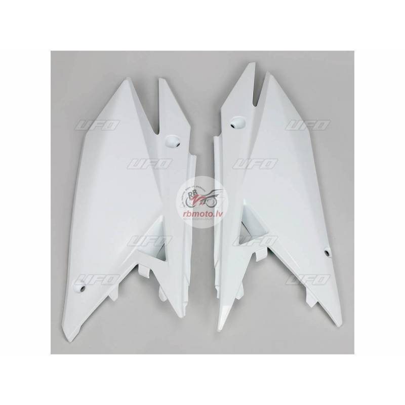UFO Side Panels White Suzuki RM-Z450