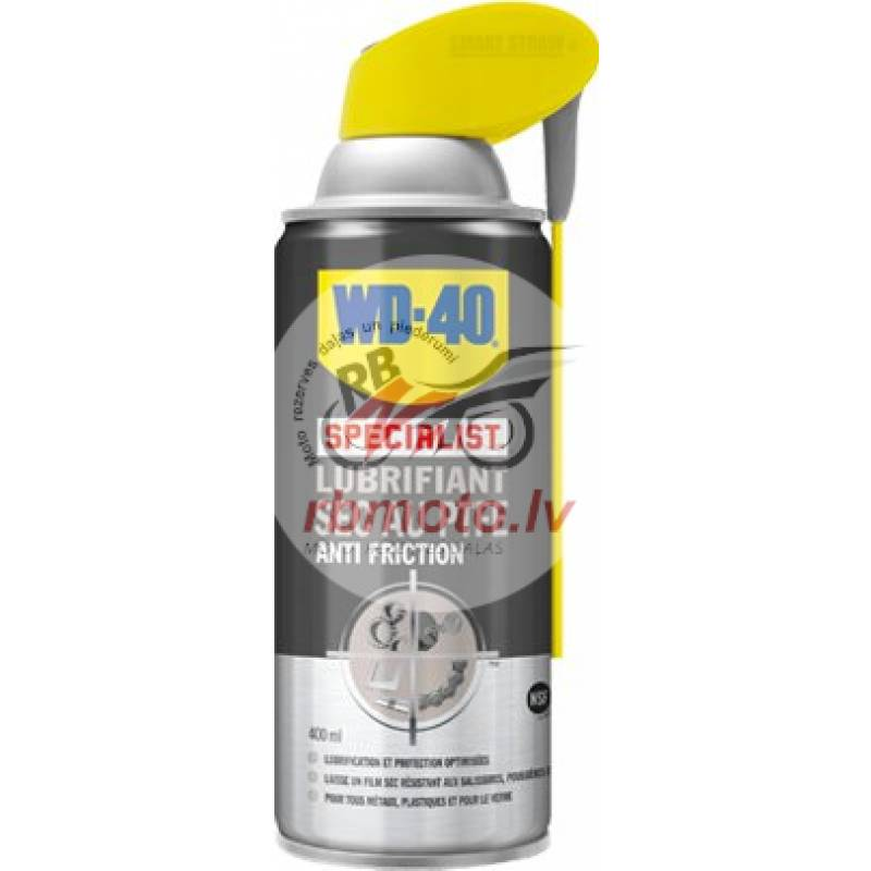 WD-40 Specialist Dirt & Dust PTFE Dry Lube 400...