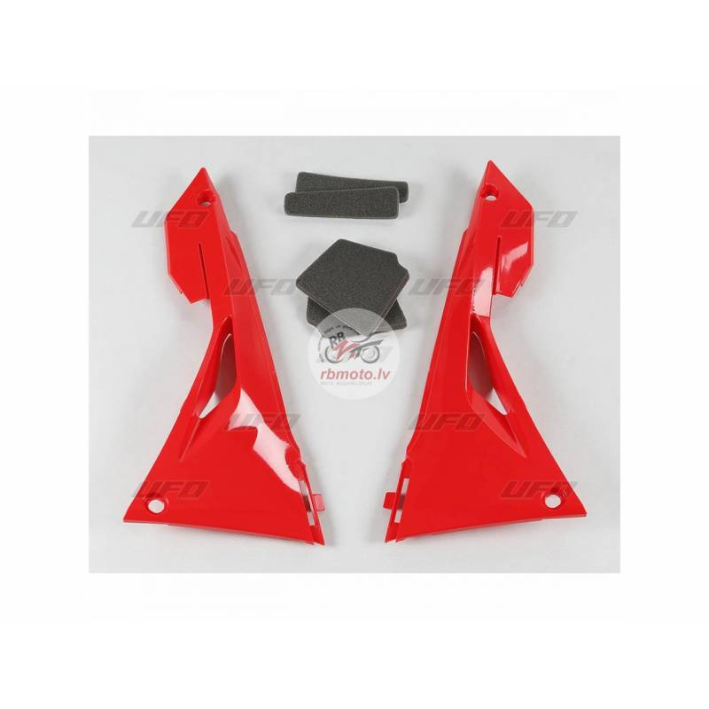 UFO Air Box Covers Red Honda CRF250R/450R/RX