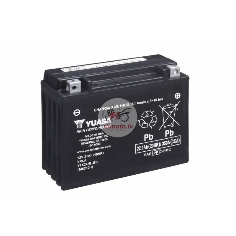YUASA YTX24HL-BS Battery Maintenance Free Delivere...