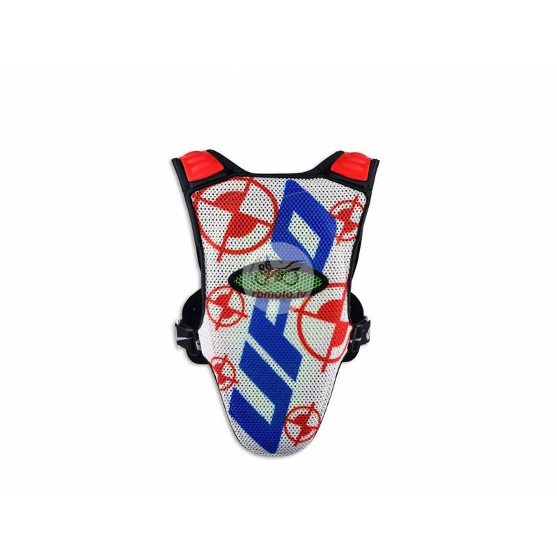 UFO Valkyrie 2 Evo Chest Protector Long Blue/White...