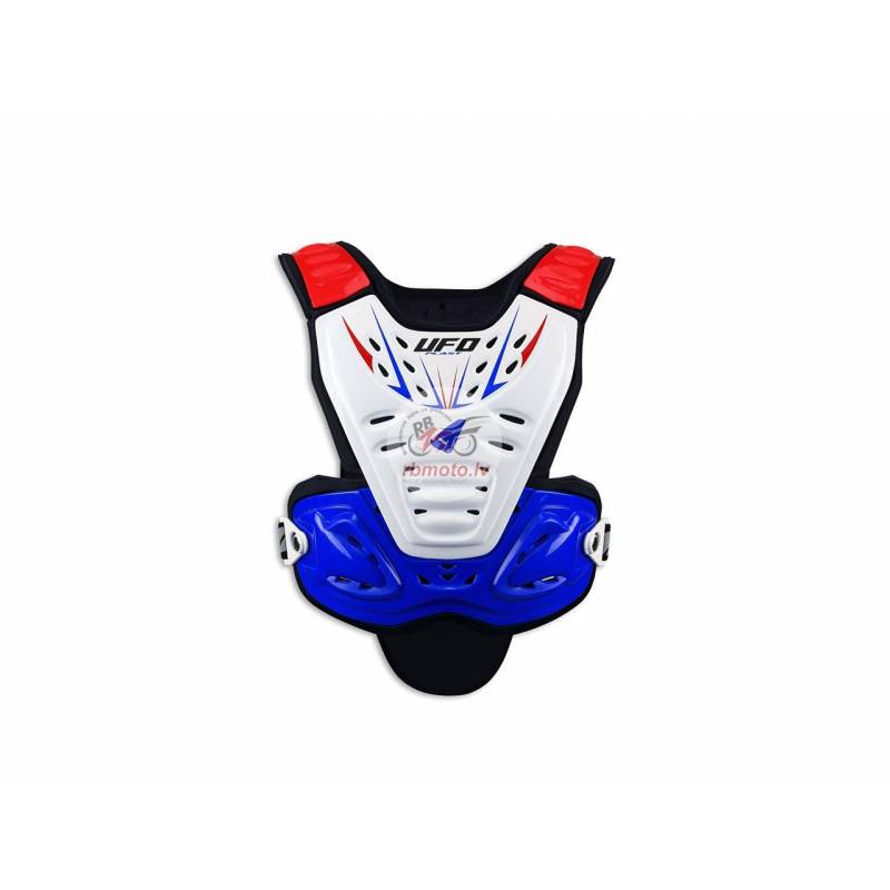 UFO Valkyrie 2 Evo Chest Protector Short Blue/Whit...