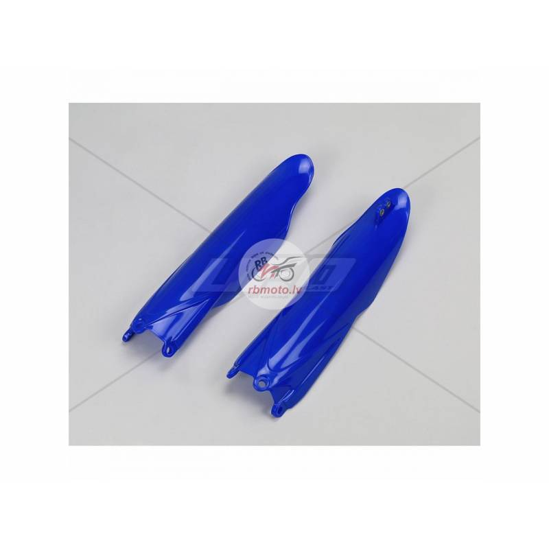 UFO Fork Guards Reflex Blue Yamaha