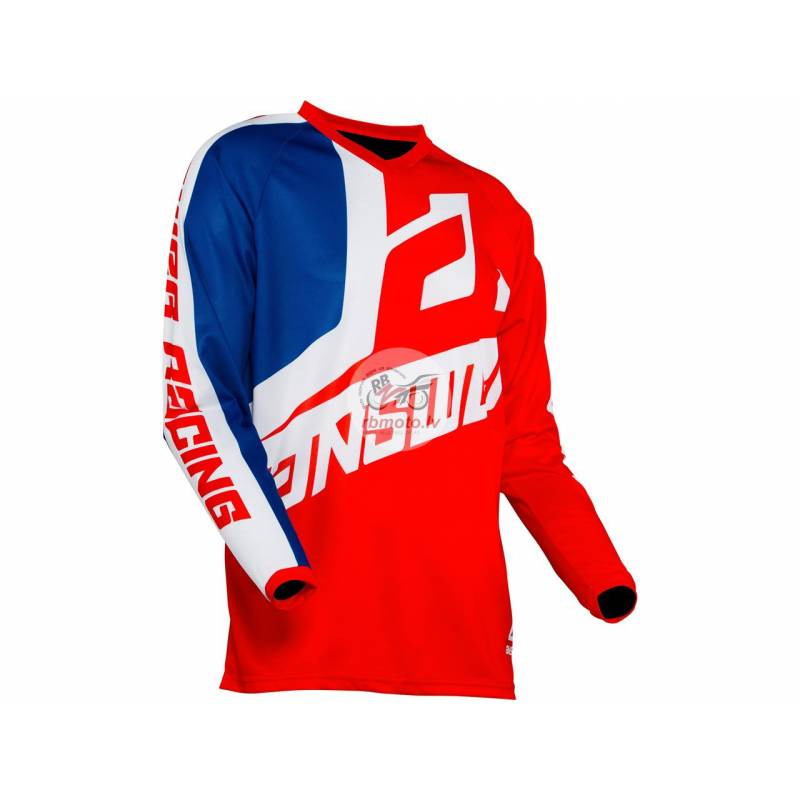 ANSWER Syncron Voyd Youth Jersey Red/Reflex/White ...