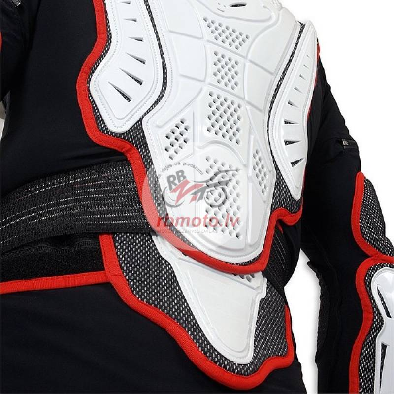 UFO Pro-Ergo Body Protector with Belt Black/White ...