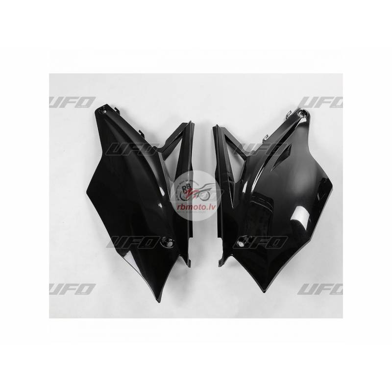 UFO Side Panels Black Kawasaki KX450F