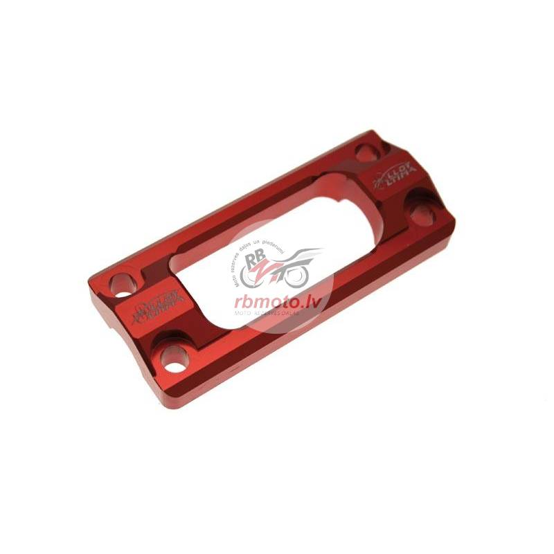 STEERING STABILIZER MOUNT, 22.2MM RED FOR CR/CRF 2...