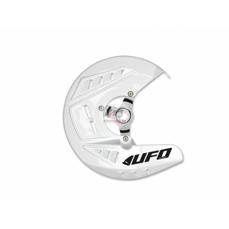 UFO Front Disc Protector White Yamaha YZ250F/YZ450...