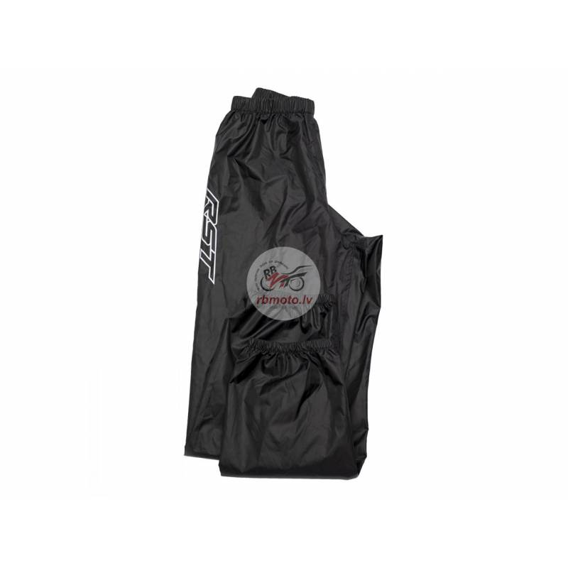 RST Lightweight Waterproof Rain Pants Black Size 2...
