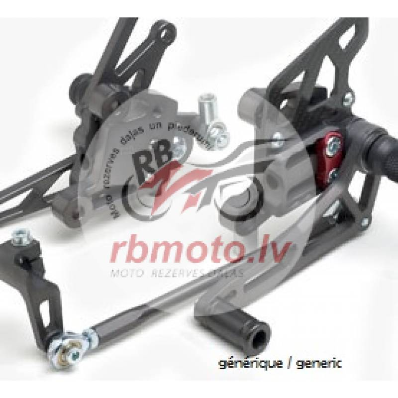 RIGHT REARSETS FOR THE KIT 448065