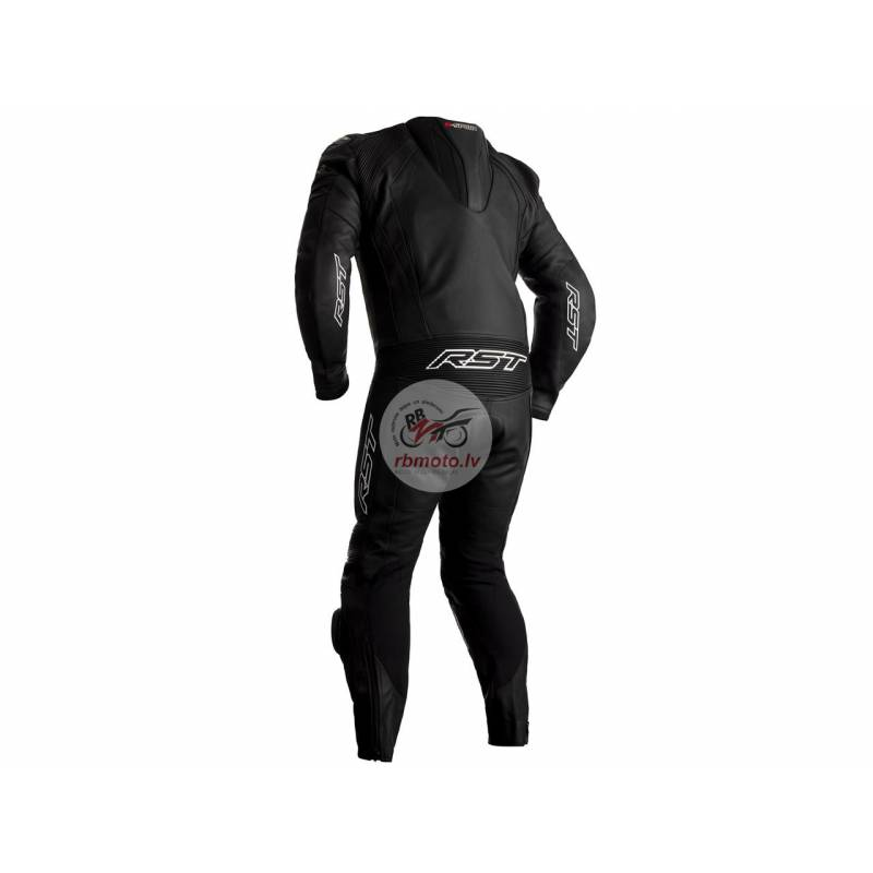 RST R-Sport CE Race Suit Leather Black Size XXL Me...