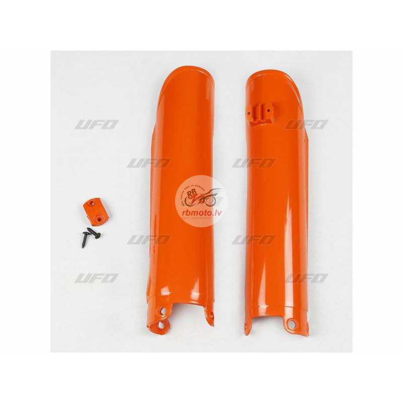 UFO Fork Guards Orange KTM