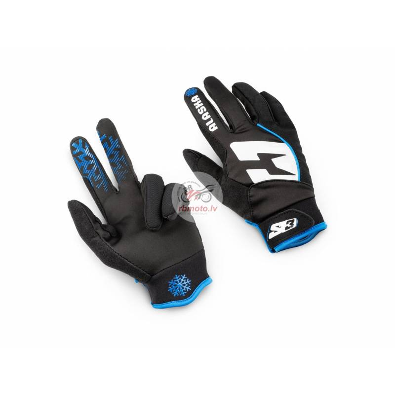 S3 Alaska Winter Sport Gloves Blue/Black Size S