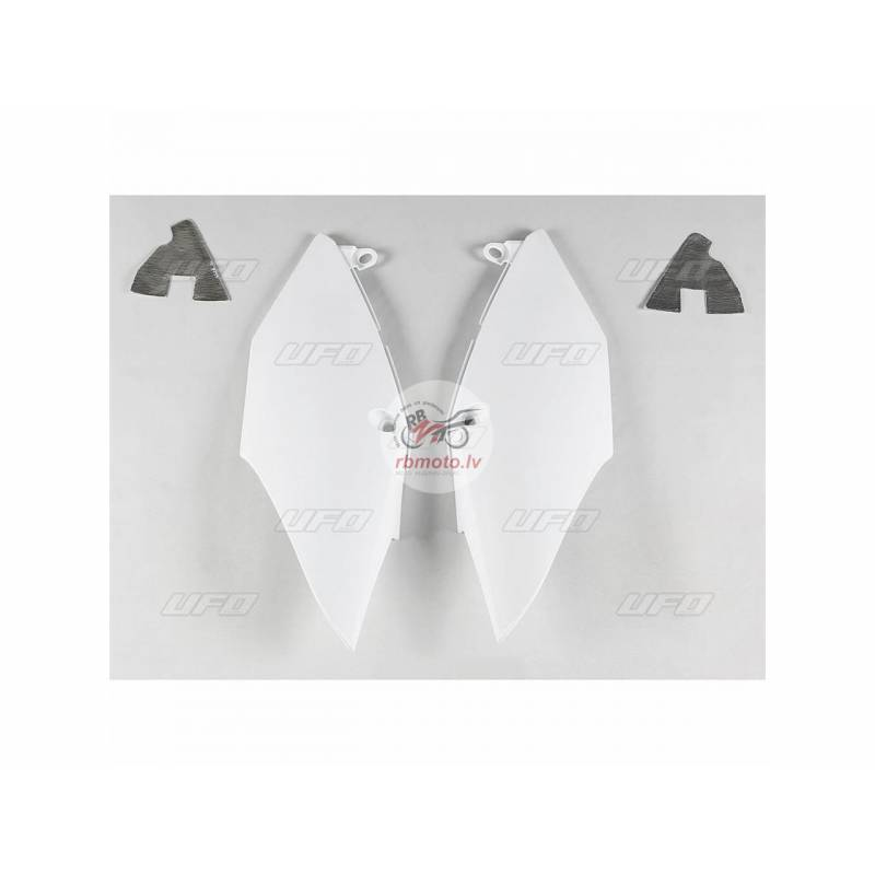 UFO Side Panels White Honda CRF250R/450R/RX