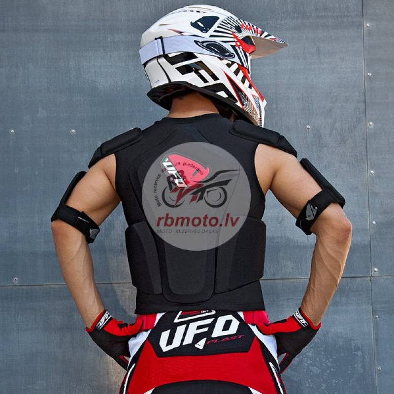 UFO Cyborg Body Protector with Belt Black Size XXL