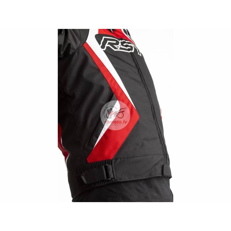 RST Tractech EVO 4 CE Jacket Textile Red Size 2XL ...