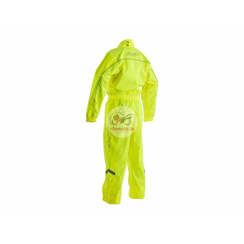 RST Waterproof Overall Neon Yellow Size XL