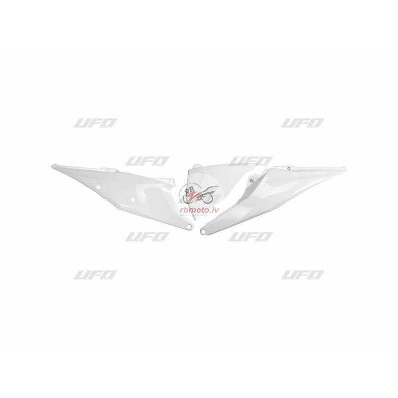 UFO Side Panels White KTM SX/SX-F