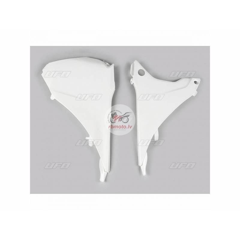 UFO Air Box Covers White KTM EXC/EXC-F