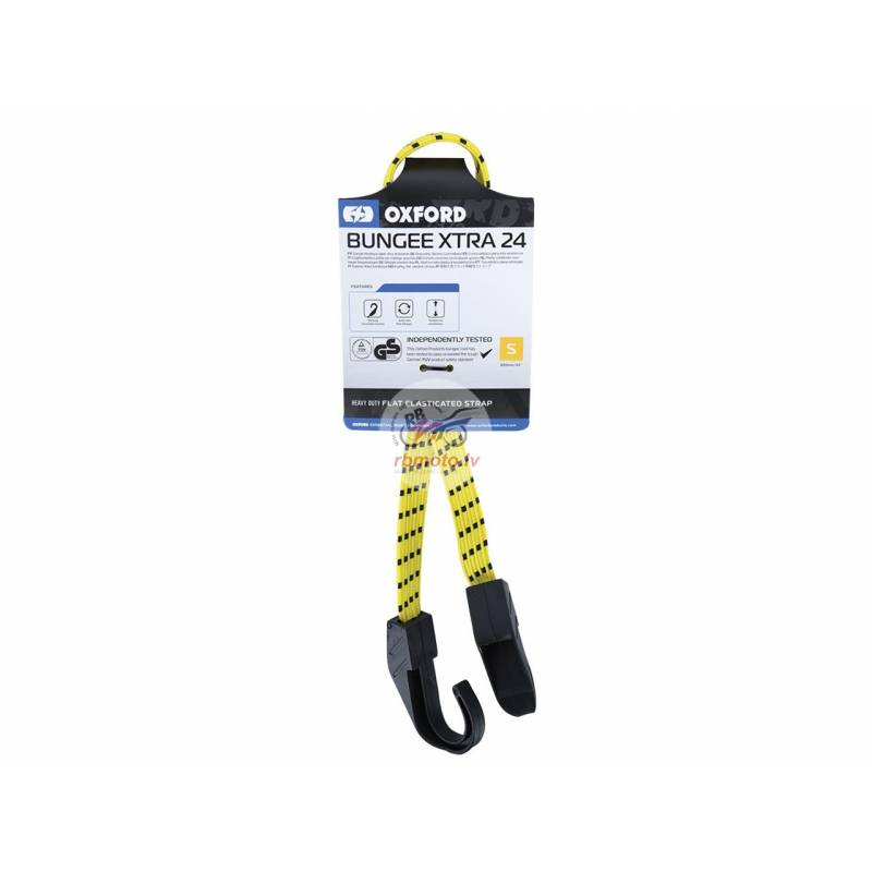OXFORD Bungee TUV/GS Elasticated Strap 16x600mm
