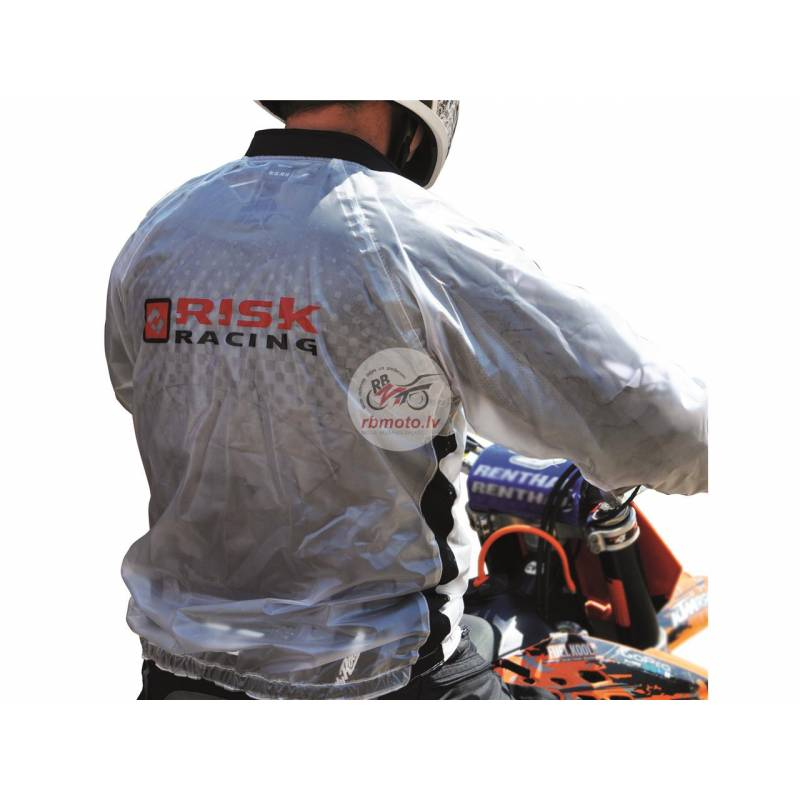 Risk Racing Rain Jacket Translucent size M