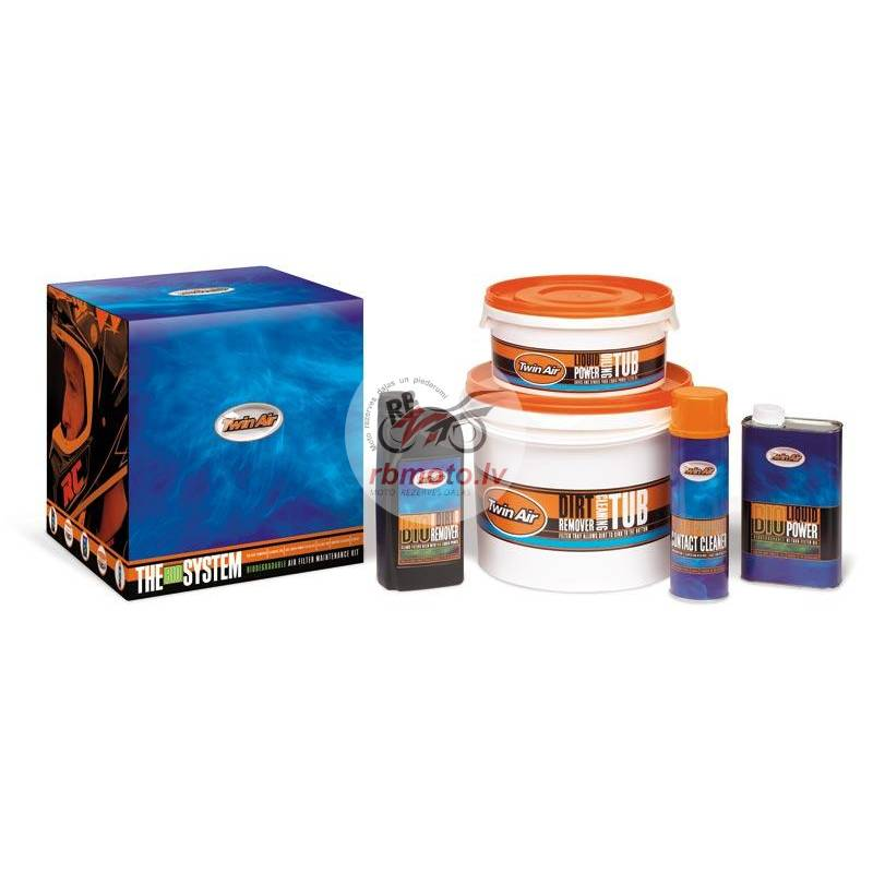 TWIN AIR The System BIO Air Filters Care Kit
