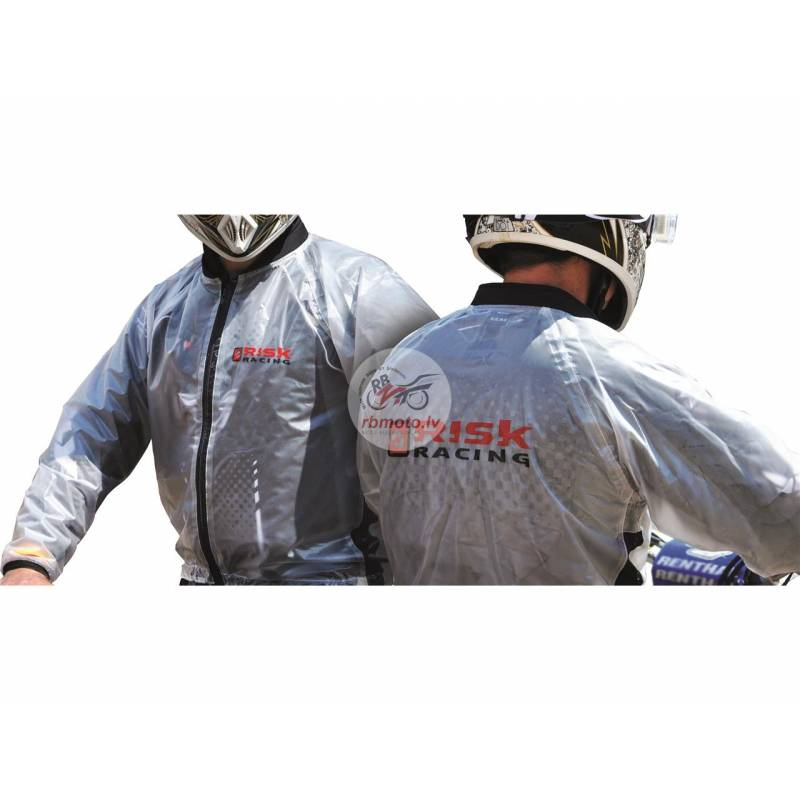 Risk Racing Rain Jacket Translucent size XL