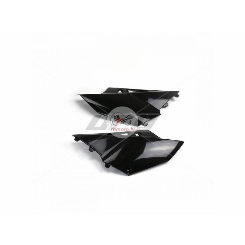 UFO Side Panels Black Yamaha YZ125/250