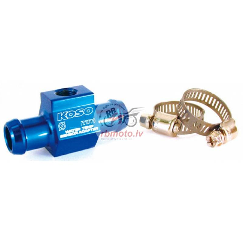 Koso water temperature sensor adapter for Ø22mm h...