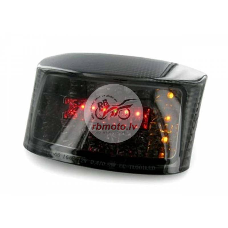 V PARTS Rear Light w/ Integrated Indicators LED Sm...