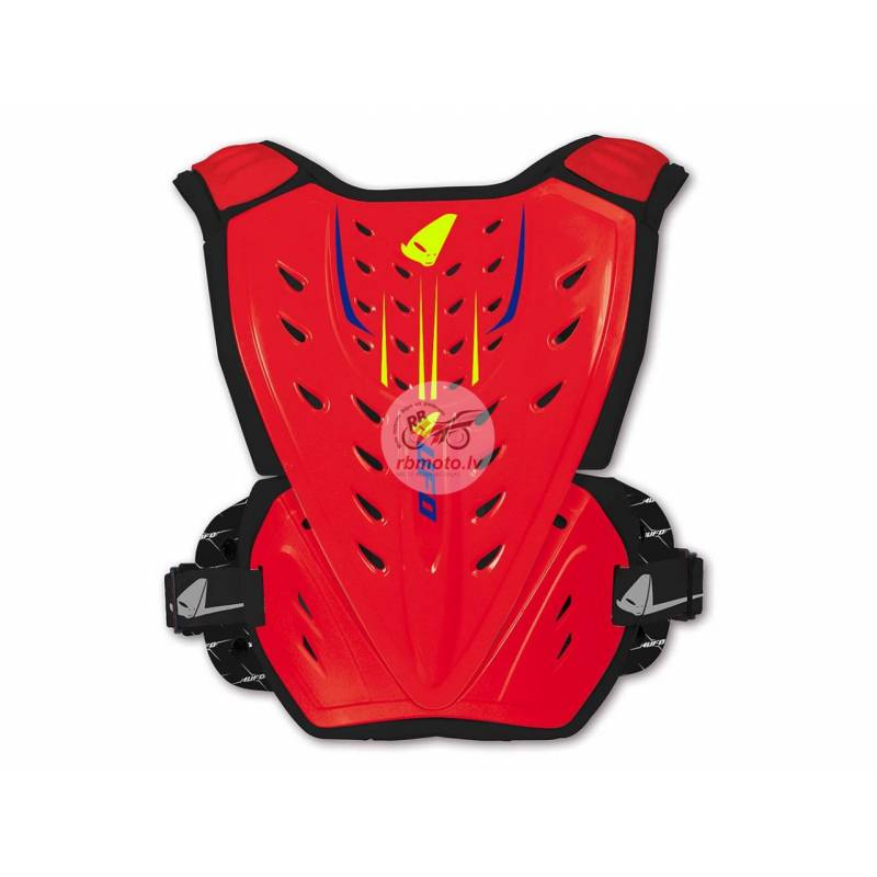 UFO Reactor 2 Evolution Chest Protector Neon Red