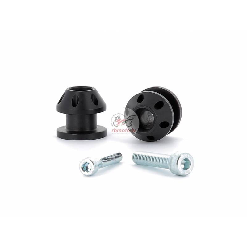 V-PARTS M6x1 Bobbins Aluminum Black