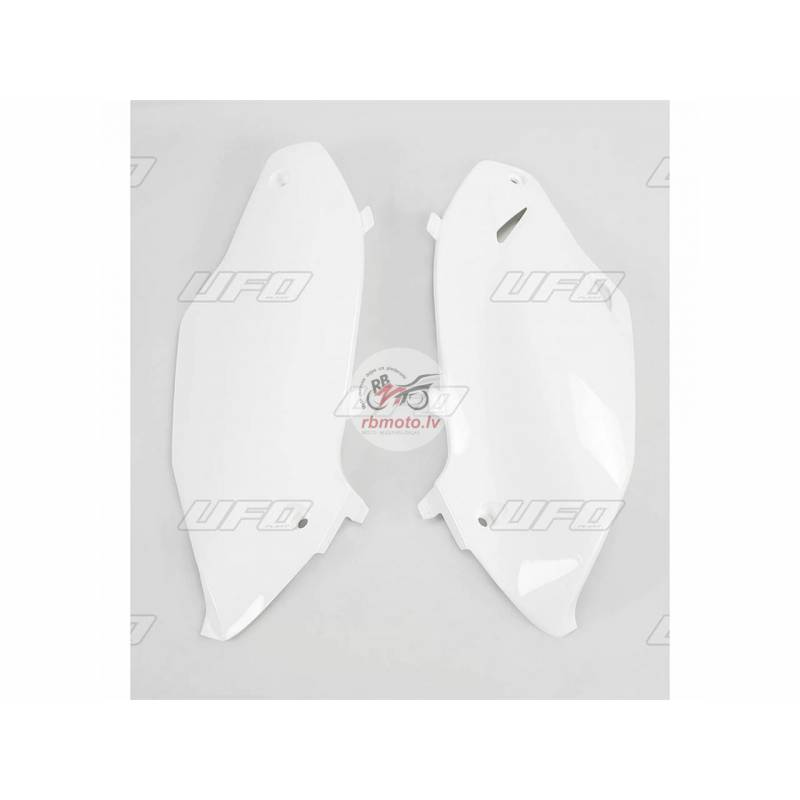 UFO Side Panels White Kawasaki KX250F/450F