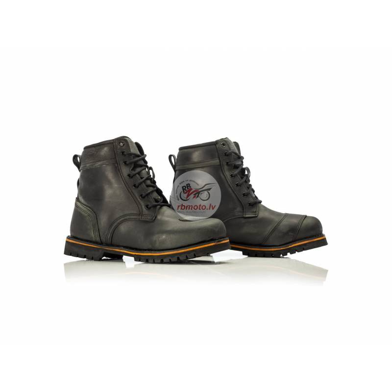 RST Roadster II WP CE Leather Boots Oily Black Siz...