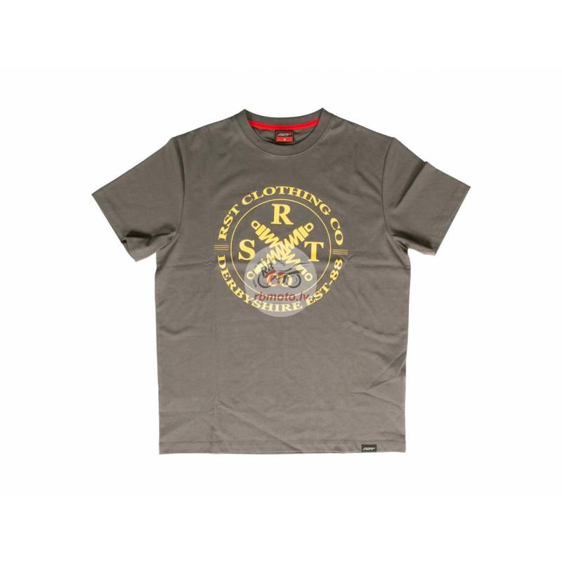RST Clothing Co T-shirt Grey/Mustard Size L