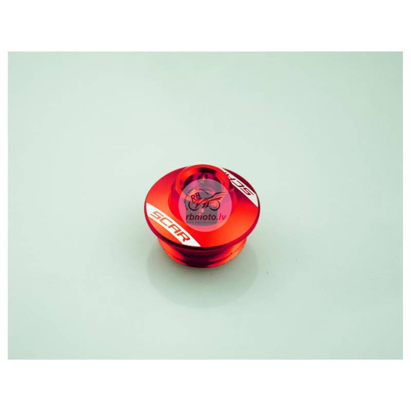 SCAR Oil Pan Cap Red