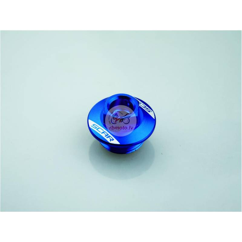 SCAR Oil Pan Cap Blue