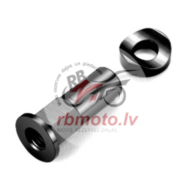 ART Long Rim Lock Nut Black