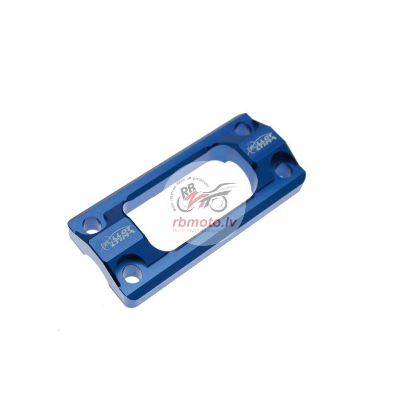 STEERING STABILIZER MOUNT, 22.2MM BLUE FOR YZF/WRF...