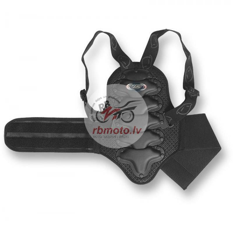 UFO Back Protector with Belt Black Junior 9 to 12 ...