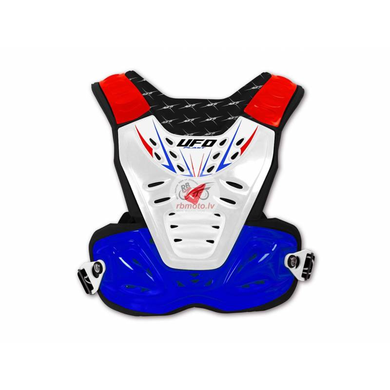 UFO Reactor 2 Evo Chest Protector Blue/White/Red A...