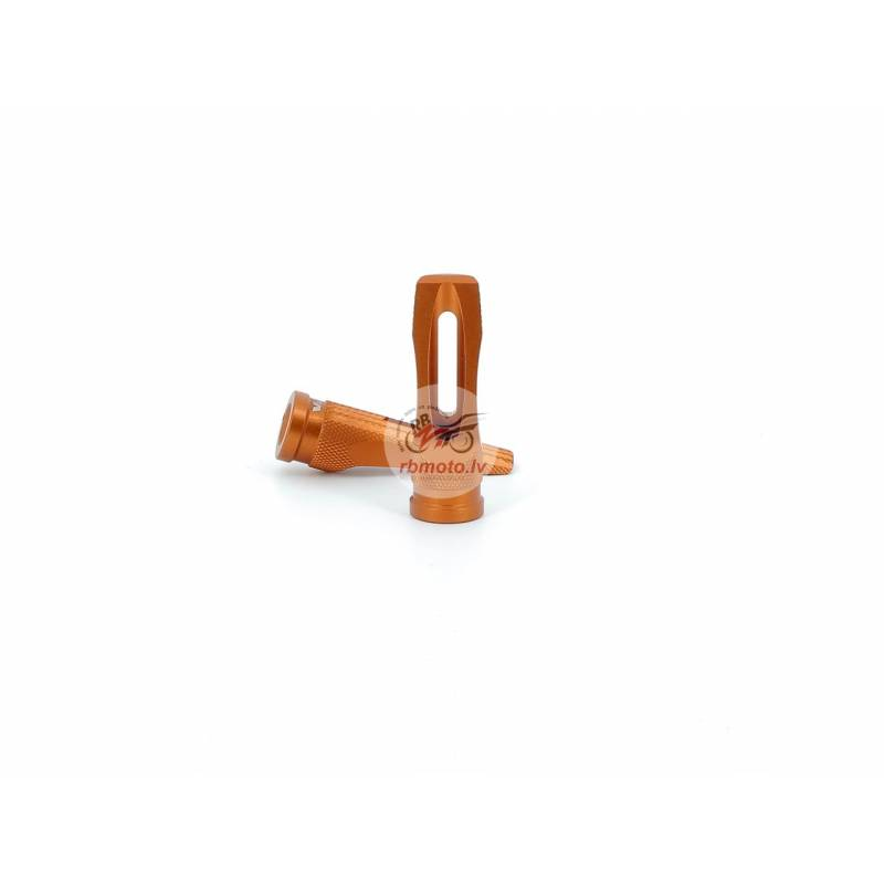 V PARTS Pro 2 Foot Pegs Orange