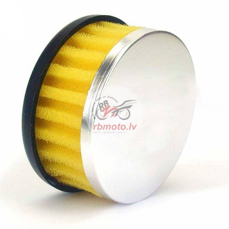 V PARTS Straight Air Filter Ø28/35mm Yellow